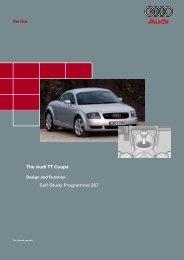 Self-Study Programme 207 The Audi TT Coupé - VolksPage.Net