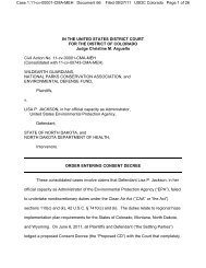 final consent decree