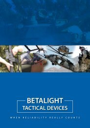 betalight tactical devices