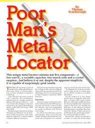 Poor Mans Metal Locator 2006.pdf - Modern Prepper