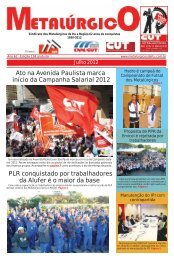 Ato na Avenida Paulista marca início da Campanha ... - CNM/CUT