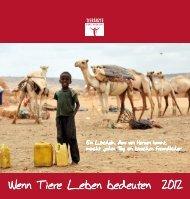 Wenn Tiere Leben bedeuten 2012