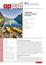 Fjordkajakken Kajakken & wandelen, Noorwegen - Op Pad