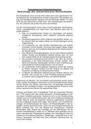 Transatlantisches Freihandelsabkommen: Demontage des ...