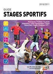 StageS SportifS - Aix-en-Provence