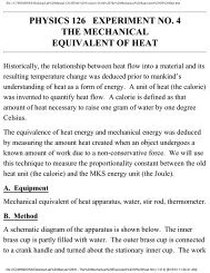 The Mechanical Equivalent of Heat