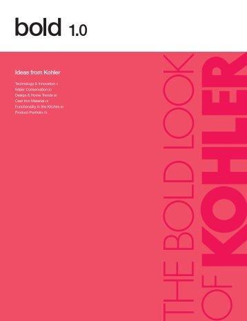 Bold 1.0: Ideas from Kohler - Builder Concept Home 2012