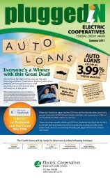 AUTO LOANS - Electric Cooperatives Federal Credit Union