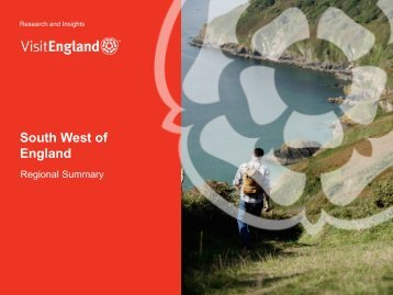 South West Factsheet - VisitEngland