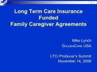 LTC 806 -- LTCi Funded Caregiver Agreements - Long Term Care ...