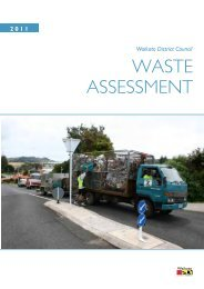 1.2 Purpose of this waste assessment - Waikato District Council