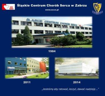 Folder SCCS 2012 - Śląskie Centrum Chorób Serca w Zabrzu
