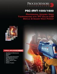 Click through here to view IR Temperature Video Camera Brochure.
