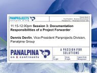 11:15-12:00pm Session 3: Documentation Responsibilities of a ...