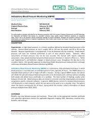 24-hour Ambulatory Blood Pressure Monitoring (ABPM) - Lifelabs
