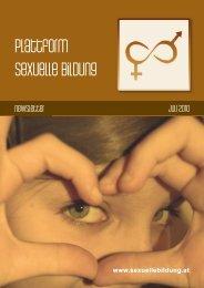 Newsletter Juli 2010 - Plattform sexuelle Bildung