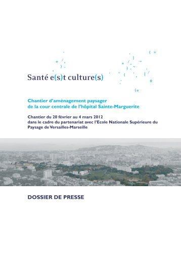 Chantier d'aménagement paysager de la cour centrale de l'Hôpital ...