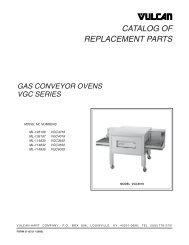 F-31163 VGC Gas Convyr Oven