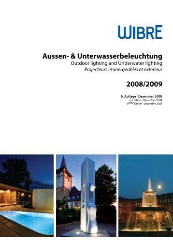 Aussen- & Unterwasserbeleuchtung 2008/2009 - LIGHTBOX intl