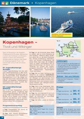 Dänemark - Die Schulfahrt