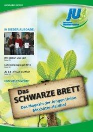 Ausgabe 2 - Junge Union Maxhütte-Haidhof