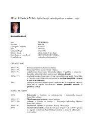 CV - prof. Milin.pdf - Medicinski fakultet Rijeka
