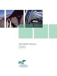 Informe Anual FCC 2002