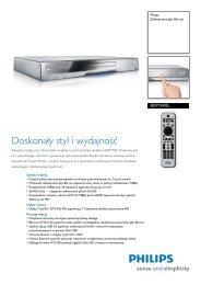 BDP7500SL/12 Philips Odtwarzacz płyt Blu-ray