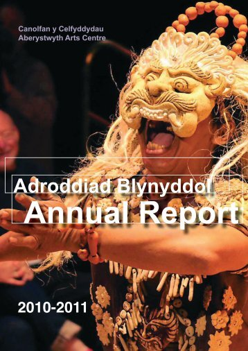 Adroddiad blynyddol 2010-2011 Annual Reportpdf 3629K
