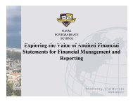 18. Exploring the Value of Audited Financial Statements ... - PDI 2012