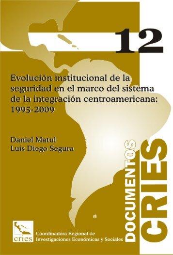 Documento CRIES 12 - Evolución institucional de la seguridad