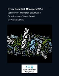 CDRM_2014_Data_Privacy_Information_Security_Cyber-Insurance_Trends_Report