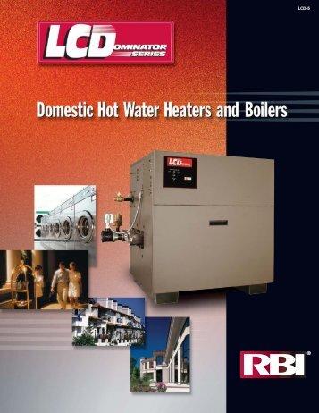 RBI LCD catalog - California Boiler