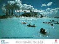 Sweden - Geoelec