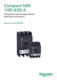 Manuales de Usuario Compact NSX - Schneider Electric