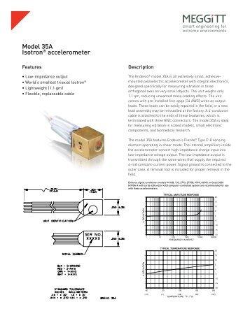 Model 35A Isotron® accelerometer - Endevco