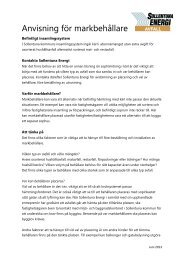 Info Markbehållare - Sollentuna Energi