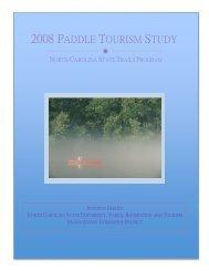 2008 Paddle Tourism Study - North Carolina State Parks