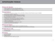 ESPECIFICAÇÕES TÉCNICAS - Case IH