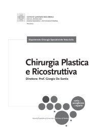 Chirurgia Plastica e Ricostruttiva - Policlinico di Modena