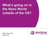 Shaun.Clancy@evonik.com - Nanotechnology Coalition