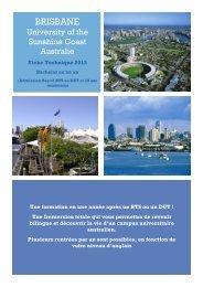 Bachelor en Australie, Brisbane - ISPA
