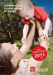 Fellesforbundets forsikringsbrosjyre 2011