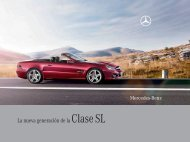 La nueva generación de la Clase SL - Mercedes-Benz México