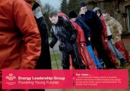 Energy Leadership Group Powering Young ... - The Prince's Trust