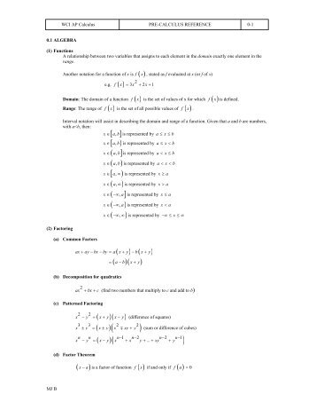 3 years of math pdf download - The Burns Home Page