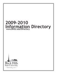 2009-2010 Information Directory