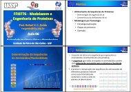 Modelagem por homologia - USP
