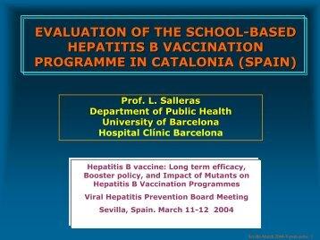 Sin título de diapositiva - Viral Hepatitis Prevention Board