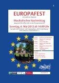 EUROPAWOCHEN Programm - Seite 5